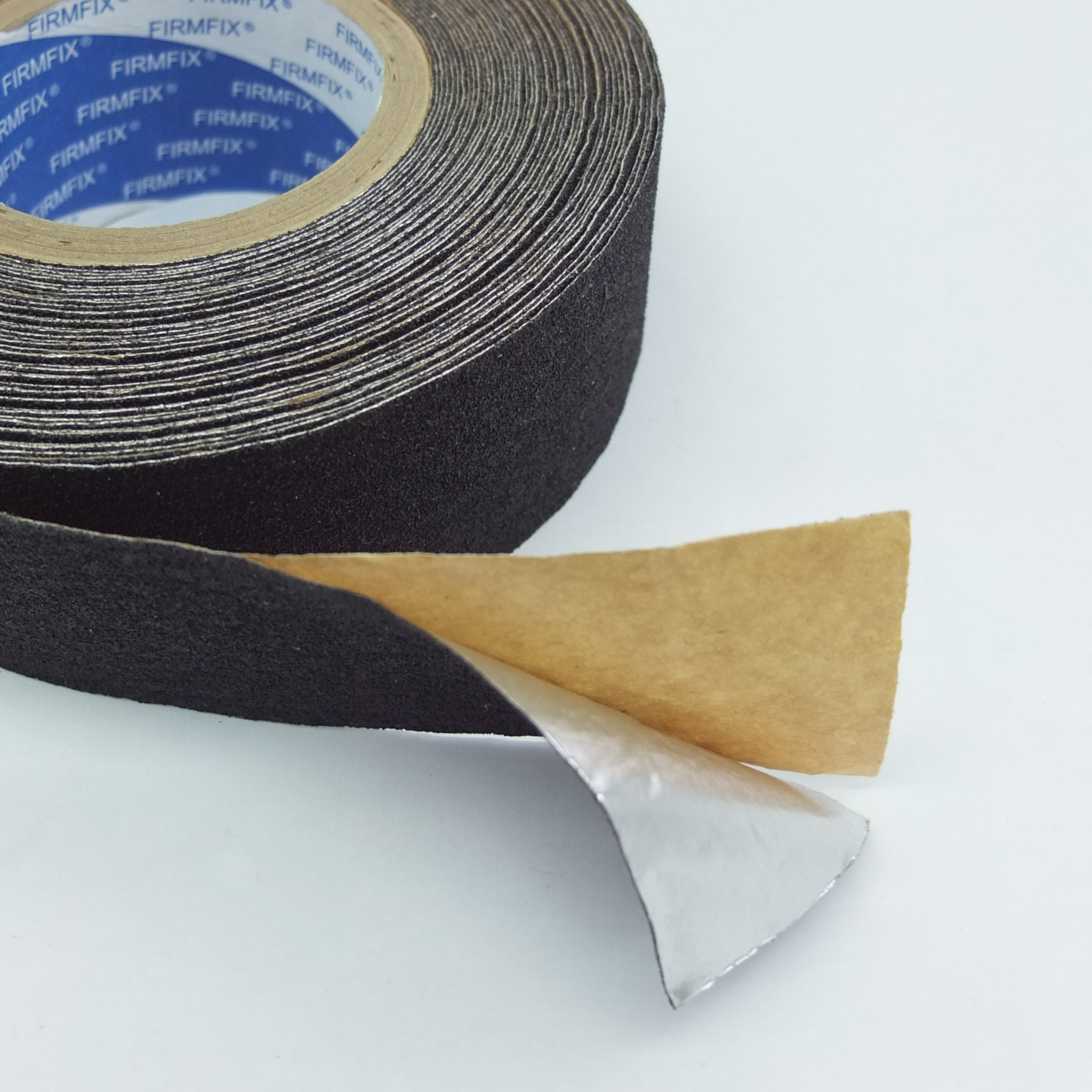 FIRMFIX Anti-slip Tape – Black with Aluminium Backing (Conformable)
