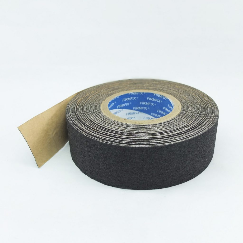 FIRMFIX Anti-slip Tape Black with Aluminium Backing (Conformable)